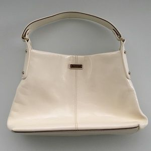 Kate Spade white hobo bag